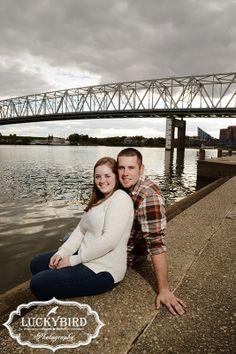 Cincinnati engagement session   Luckybird Photography