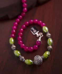 Brown Afghani Snowflake Bauxite Beads 15mm Afghanistan Unusual Stone