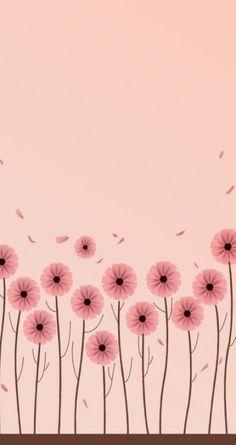 Wallpaper minimalistas rosa new ideas Pastel Background Wallpapers, Pastel Iphone Wallpaper, Pretty Wallpapers, Tumblr Wallpaper, Flower Backgrounds, Aesthetic Iphone Wallpaper, Cellphone Wallpaper, Flower Wallpaper, Screen Wallpaper