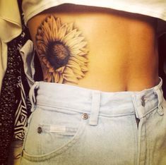 All the Best Gorgeous Sunflower Tattoo Designs
