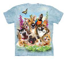 Pet Selfie Kids T-Shirt