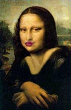 Rosy Red Lips Mona