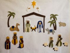Silhouette nativity rubber stamp set nativities pinterest my oldest child is now 3 and im so excited about this christmas because he can finally start to understand the nativity scene solutioingenieria Image collections