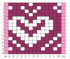 A Knitter's Muse: Fair Isle Heart Motif for Tait