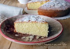 Torta+di+mandorle,+senza+farina+e+senza+lievito