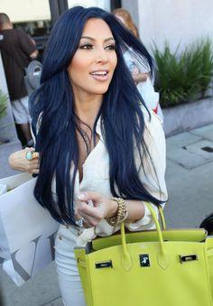 Blue Black Hair Color Tumblr