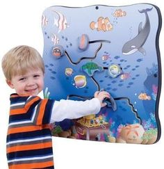 Seascape Explorer Wall Toy - SensoryEdge