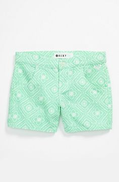 Roxy Make Way Denim Shorts (Big Girls) available at #Nordstrom