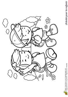 1000 images about coloriages enfants on pinterest petite fille sons and scene - Dessin enfant a colorier ...