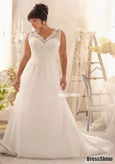 I like this - Elegant Chiffon and Lace V Neck Plus Size Wedding Dress. Do you think I should buy it?