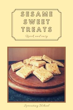 These sweet sesame squares are like tiny energy bars, they are very satisfying and filling. From eastern Europe all the way to parts of Asia, there are different variations on this sesame candy. They are slightly nutty and ever so sweet with that lovely honey flavour. These sesame squares are based on the Greek pasteli, they go way back in history. Baking Parchment, Energy Bars, Candy Recipes, Eastern Europe, Squares, Sweet Treats, Greek, Asia, Honey