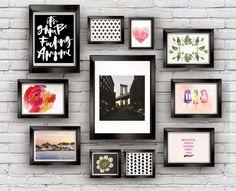 Casa de Colorir: Composição de posteres na parede: o melhor dossiê que você pode ter