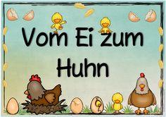 """Ideenreise: Themenplakat """"Vom Ei zum Huhn"""""""