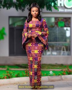 latest ankara gown styles - African Prints Styles Latest Ankara Gown Styles 2020 9 608x760 - 40 Pictures – New and Stylish African Prints Styles: Latest Ankara Gown Styles 2020 - photo