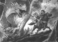 meanwhilebackinthedungeon:  – Mark Schultz Conan and the Dragon