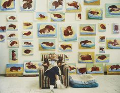 David Hockney ~ dog days