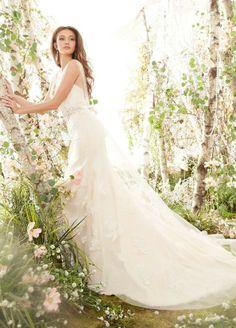 Lovely A-line #weddingdress! {Photo: JLM Couture Flagship Salon}