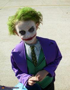 Diy Kid Joker Costume Google Search Joker Halloween