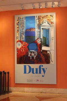 Cartel de la Exposición de Roul Dufy en el Museo Thyssen-Bornemisza Madrid #Cartel #Affiche #Arterecord 2015. https://twitter.com/arterecord