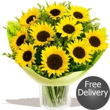 Fields of Gold Sunflowers Fields Of Gold, Sunflower Bouquets, Gifts Delivered, Flowers Delivered, Floral, Sunflowers, Beautiful, Flowers, Sunflower Arrangements