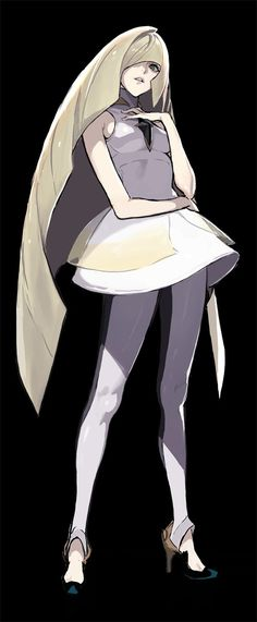 I want Lusamine to step on me - Lusamine - Pokemon- fave characters - gud art