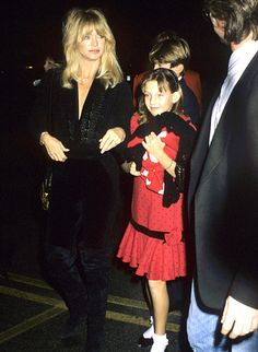 """December 9, 1989 - Like her mother, Hudson took ballet lessons as a child. When the Something Borrowed star turned 11, Hawn agreed to let her daughter try another style of dance. """"I went into my first hip-hop class and that was it. That was it!"""" said Hudson (at a Big Sisters event in Hollywood)."""