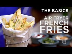 Cooking lessons & recipes from the Blue Jean Chef Meredith Laurence. Perfect French Fries, Making French Fries, Homemade French Fries, Air Fry Recipes, Cooking Recipes, Ww Recipes, Potato Recipes, Potato Dishes, Oven Recipes