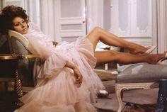 Sophia Loren Vintage Icon wolf willow fashion style blog inspiration dress floral era starlet actress beauty