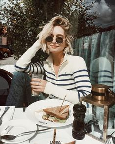 """9,160 Likes, 173 Comments - Rianne Meijer (@rianne.meijer) on Instagram: """"Never not wearing stripes, sorry not sorry #FromAmsterdam #FromEverywhere #ScotchFW17 #ad"""""""