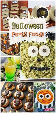 Halloween Appetizers For Adults, Halloween Dinner, Halloween Food For Party, Halloween Stuff, Halloween Treats, Halloween Decorations, Spooky Treats, Halloween Foods, Cheap Halloween