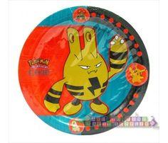 Pokemon Vintage Large Paper Plates (8ct)