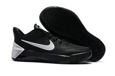 62c33558a2184 Discount Nike Kobe AD 2017 Kicks Triple Black Metallic Silver