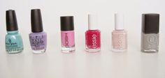 Cupcakes & Cateyes: 6 Colours for Spring: Lips + Nails Essie, Nail Polish, Cupcakes, Lipstick, Colours, Nails, Spring, Beauty, Finger Nails