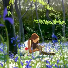 """34.2k Likes, 259 Comments - Pascal Campion Art (@pascalcampionart) on Instagram: """"Spring will come. #pascalcampion #pascalcampionart #illustration #storyoftheday #flowers #spring…"""""""