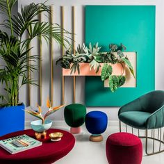 """Tom Dixon will launch a series of new products including wingback chairs and """"hallucinogenic"""" globular lamps at an abandoned theatre in Milan next month"""