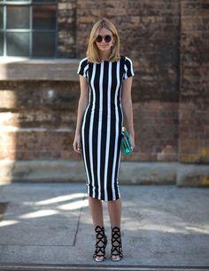 Moda de Rua: Preto e Branco - Street Fashion: Black and White (2)
