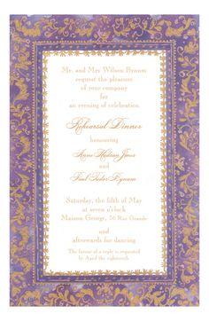 Faux-Tuny Grape Invitation from Odd Balls Invitations