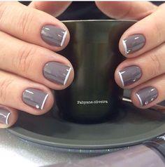 Nail Polish Art, Nail Art, Nail Designs, Nails, Makeup, How To Make, Fashion, Nail Polish Colors, Bling Nails