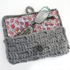 Crochet Tutoriel Case Lunettes