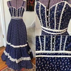 Vintage Inspired Fashion, Victorian Fashion, Vintage Fashion, Gunne Sax, Curvy Dress, Dress Sewing Patterns, Summer Dresses For Women, Dance Dresses, Fashion 2020