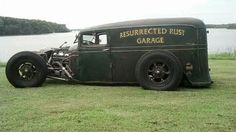 Resurrected Rust Garage -- Rat