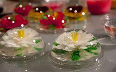 Gelatinas, dessert a base de fleurs comestibles, une specialite mexicaine