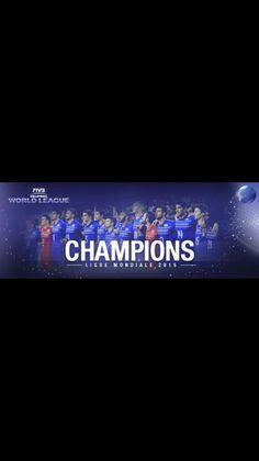 Sur le toit du monde !!! #worldleague2015 #victoire #TeamYavbou