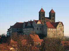 Kirche und Schloss Quedlinburg