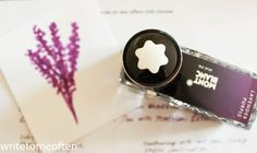 ! Write to Me Often !: Montblanc Lavender Purple Ink / Montblanc Lavender Purple Mürekkep
