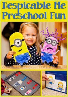 Despicable Me Preschool Fun from @{1plus1plus1} Carisa