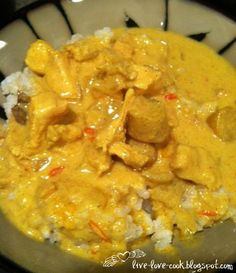 Live, Love & Cook!: Crockpot Chicken Curry