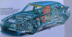 - LE ALFA AI RAGGI X Alfa Alfa, Alfa Romeo, Technical Drawing, Italian Style, Automobile, Racing, Italy, Cutaway, Sketchbooks