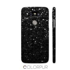 SOLD Black Crystal Strass Print LG G5 Cover! http://shop.colorpur.com/artists/ilenia #Colorpur #Black #Crystal #Strass #Print #LG #G5 #Cover #smartphone