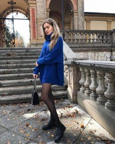 Stunning Elegant Winter Outfits Ideas For Going Out In 2019 Long Sweater Outfits, Sweater Dress Outfit, Casual Outfits, Sweater Dresses For Fall, Oversized Sweater Outfit, Fall Winter Outfits, Winter Dresses, Autumn Winter Fashion, Dress Winter